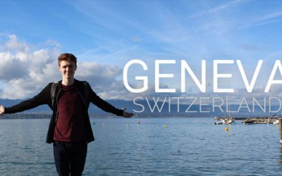 Geneva, My First Time Abroad, a Trip to Switzerland